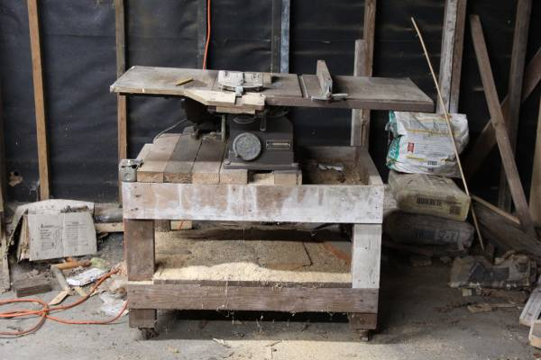 Photo Old Craftsman table saw (Audubon Park)