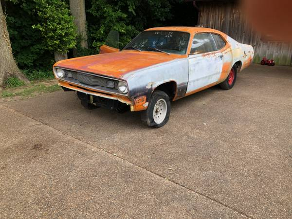 Photo PARTING OUT 1971 plymouth duster project with extras - $1 (ky 42420)