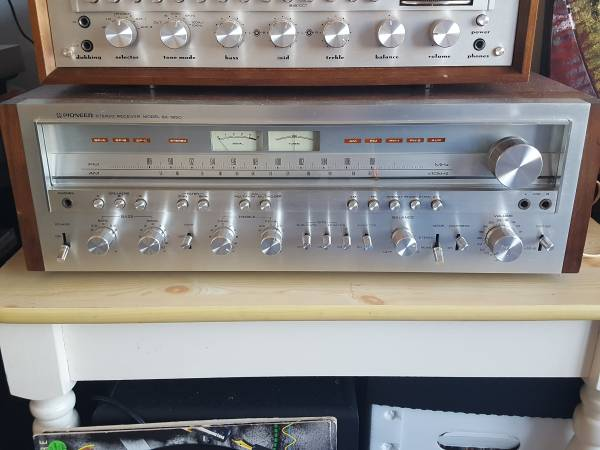 Photo Pioneer SX-1250 Stereo Receiver, Totally Refurbished - $1950 (Milton, KY)