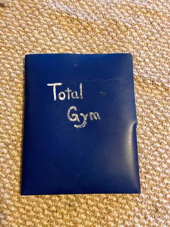 Photo Total Gym Workout System - $125