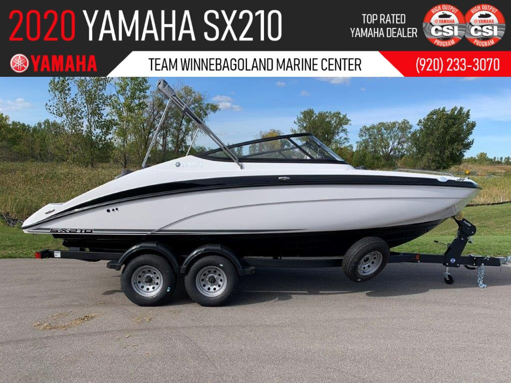 Photo 2020 Yamaha Boats SX210
