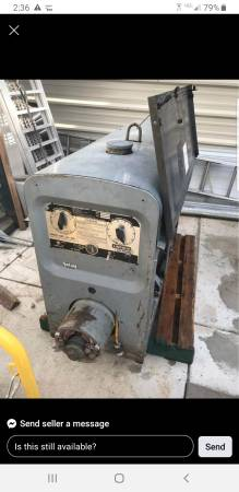 Photo lincoln sa 200 welding machine - $3,500 (maysville)