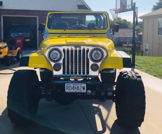 Photo 1983 Jeep c j 7 - $25,000 (Kansas City Missouri)