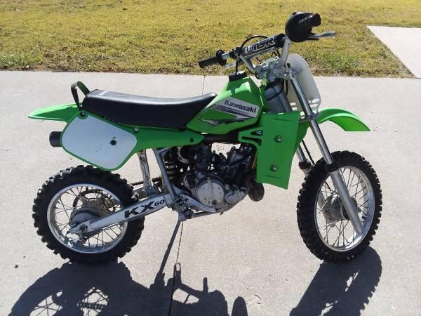 Photo 2003 Kawasaki KX 60 - $775 (Moundville, MO)