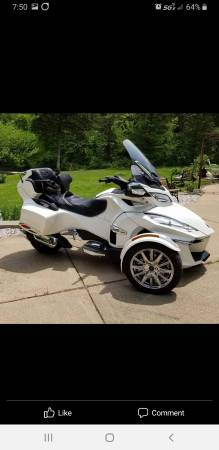 Photo 2018 Can Am Spyder RT Limited Loaded - $18,500 (High Ridge)