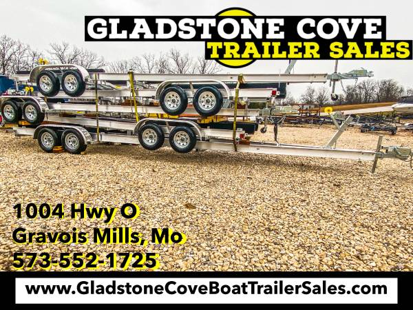 Photo 2021 HD 29-31 Tandem Axle Boat Trailer - $6,200 (Laurie)
