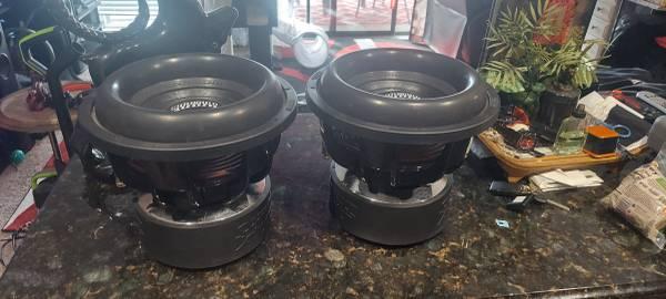 2 Sundown Audio 12quot X Series V.2 DVC 2ohm SUBWOOFERS - $700 (LAKE OZARK)