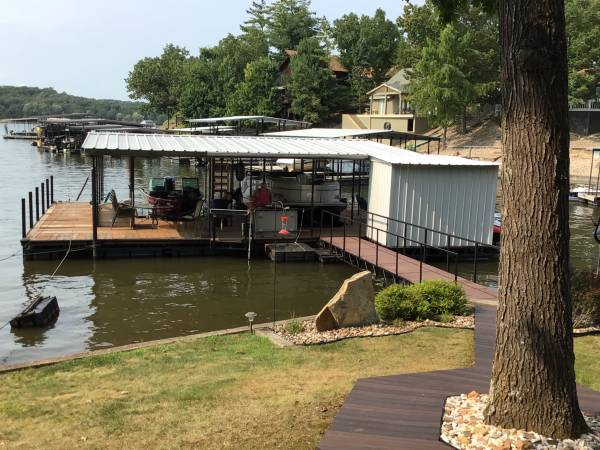 Photo Boat dock - 2 well - $20,000 (Gravois Mills)