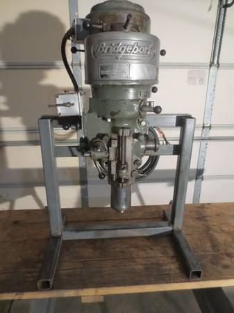 Photo Bridgeport Milling Machine Head Assembly - $925 (St. Louis)