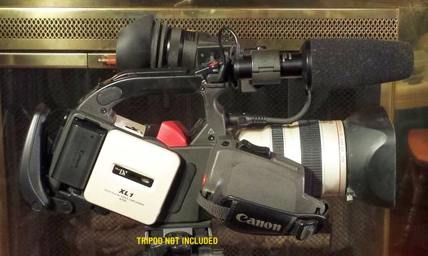Photo Canon XL1 Video Camera - $425 (Riverside, MO)