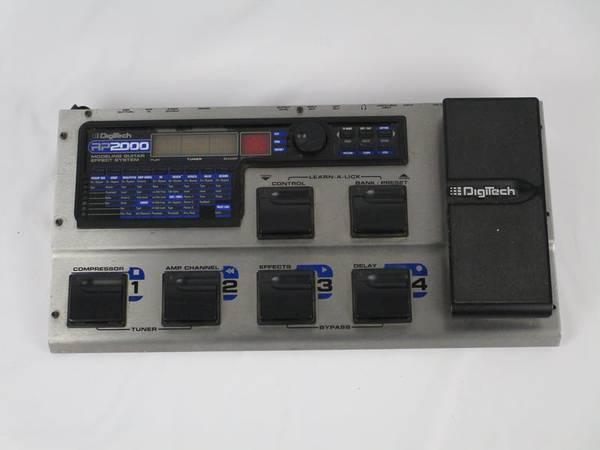 Photo Digitech RP-2000 Guitar FX Processor - $130 (Kansas City)