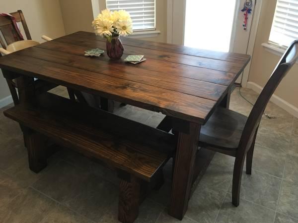 farmhouse kitchen table - $750 (troy, missouri