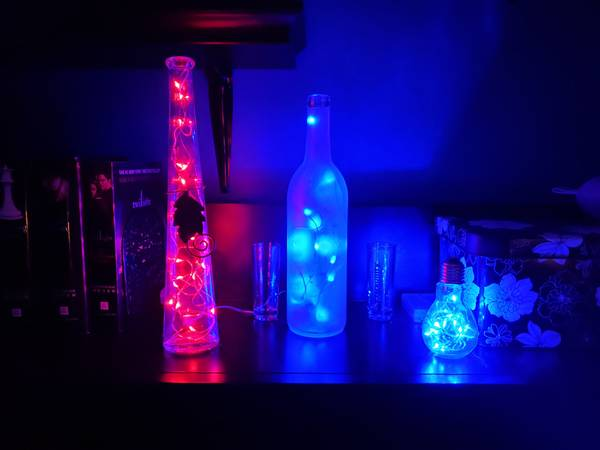 Photo Glass Bottles and More - $15 (Fenton)