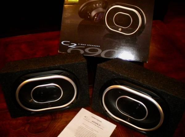 Photo JL AUDIO 6x9quot 3 way car audio speakersC2-690tx - $140 (SAINT LOUIS)
