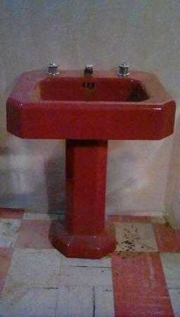 Photo KOHLER Ultimate Art Deco Pedestal Sink