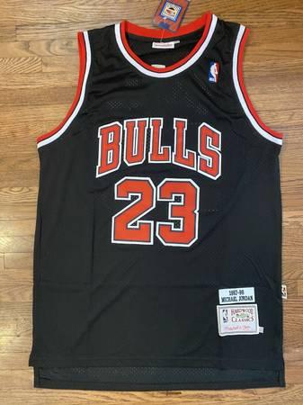 Photo NBA Basketball Jersey Michael Jordan Chicago Bulls 1997-98 Throwback - $50 (St. Louis)