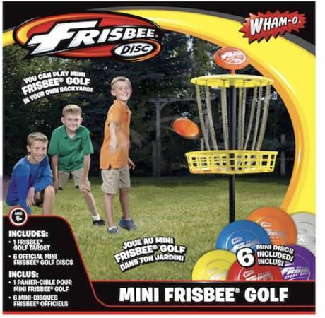 Photo NIB Wham-O Mini Frisbee Golf Set - $25 (Rolla)