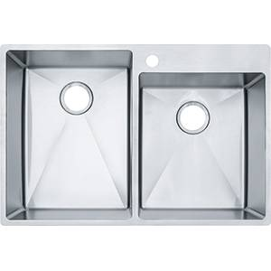 Photo New FRANKE 33quotx 22quot Stainless Steel Dbl-Bowl Dual Mount Kitchen Sink - $200 (OakvilleS.County)