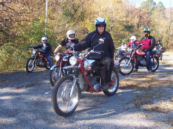 Photo SPRING TIDDLER TOUR FOR SMALL VINTAGE MOTORCYCLES FREE (Northeast OK)