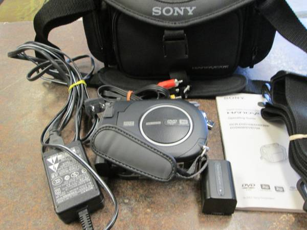 Photo Sony Used DVD Camcorder Package - $80 (St. Peters)