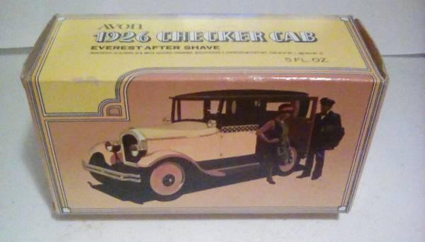 Photo Vintage 1926 CHECKER CAB