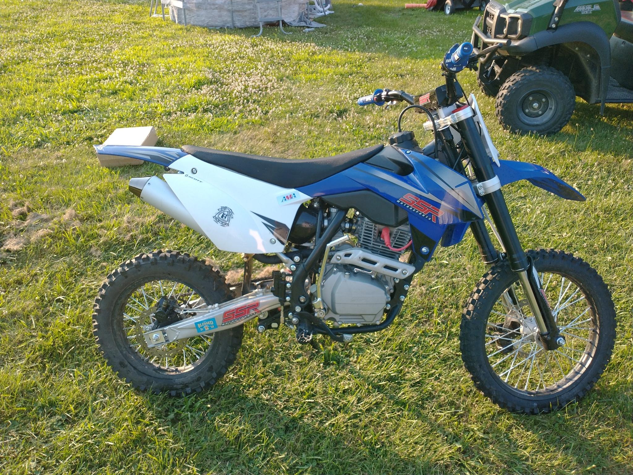Photo Used 2021 Ssr Motorsports Dirt Bike Motorcycle  $2000