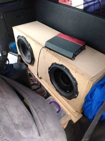 Photo to Rockford fosgate Punch threes and 1600 w  - $350 (Saint Robert)