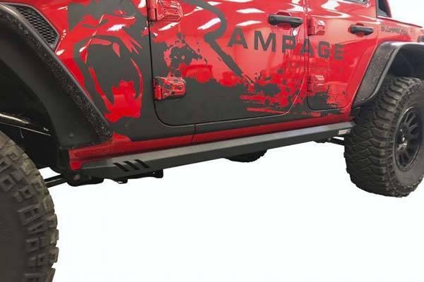 Photo 18-20 Jeep Wrangler JL 2 Door Rage Nerf Bar Rock Rails (Black) - $250 (lubbock)