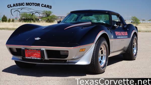 Photo 1978 Chevrolet Corvette 25th Anniversary Pace Car - $25980 (Lubbock, Texas)