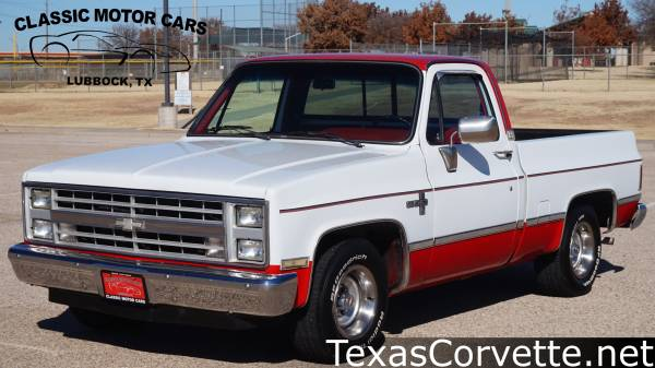 Photo 1985 Chevrolet C10 Fleetside - $23980 (Lubbock)