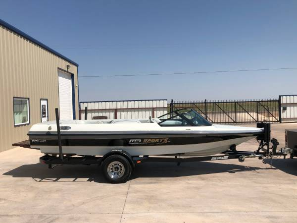 Photo 1996 MB SPORTS BOSS LS 200 WAKESKI BOAT - $13,500 (LUBBOCK)