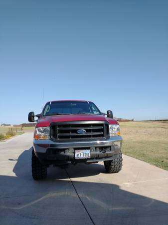 Photo 2003 Ford F-250 7.3 Lariat FX4 new parts - $12,300 (New Home, TX)