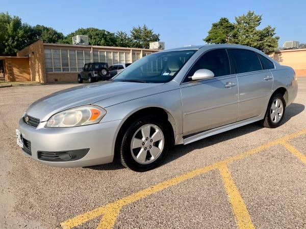 Photo 2008 Chevy impala - $4,800 (Lubbock)