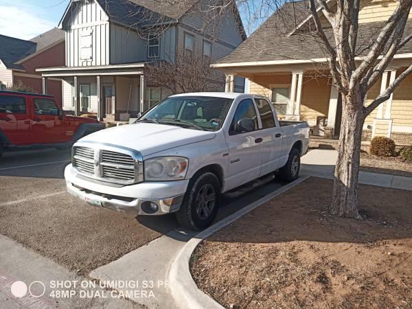 Photo 2008 RAM 1500 - $1500 (lubbock)
