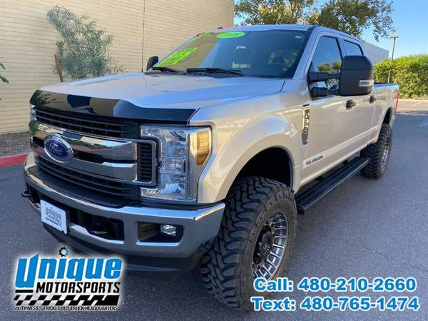 Photo 2018 FORD F-350 F350 F 350 SD DIESEL XLT 4X4 LIFTED  TRUCKS - $54,995 (DELIVERED RIGHT TO YOU NO OBLIGATION)