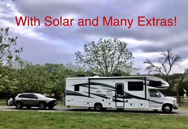 Photo 2019 Jayco Greyhawk 30X with Solar - $105,000 (Lubbock)