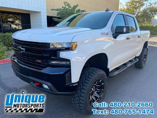 Photo 2020 CHEVROLET CHEVY SILVERADO 1500 LT TRAIL BOSS LIFTED  TRUCKS - $55,995 (DELIVERED RIGHT TO YOU NO OBLIGATION)