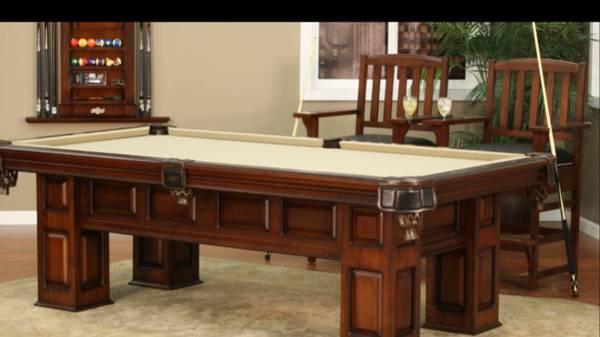 Photo American heritage pool table - $4,300 (Lubbock)