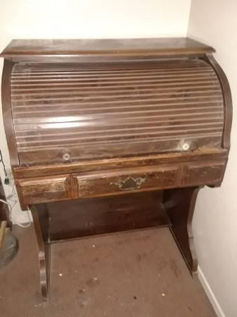 Antique Roll Top Desk 35 Lubbock Furniture For Sale