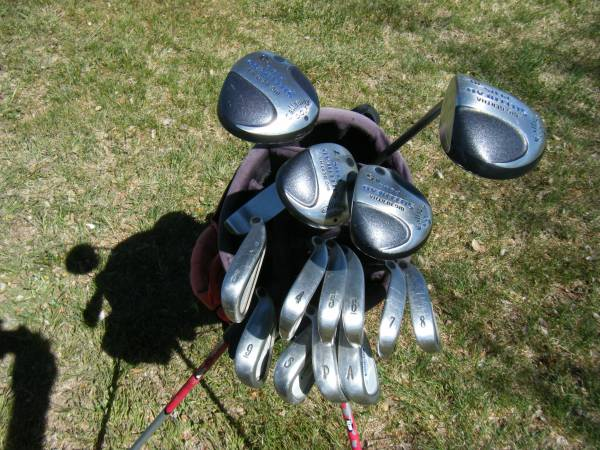 Photo Callaway X-14 irons 3-AW, Driver, 3, 5  7 woods Putter Golf Clubs - $285 (Amarillo, Texas)