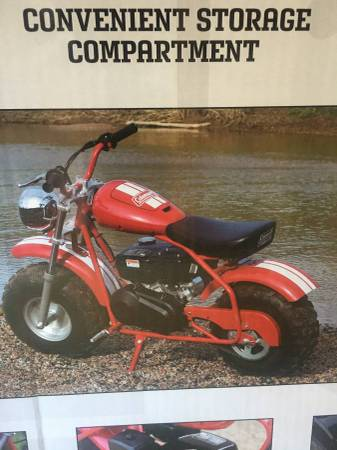Photo Coleman Mini Bike CT200U-EXR - $550 (Slaton)