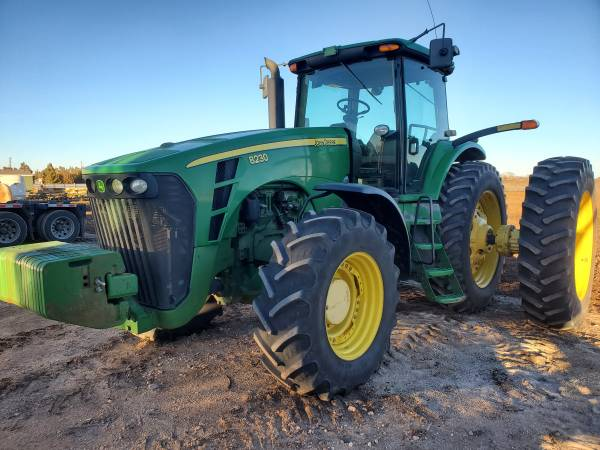 Photo John Deere 8230 Tractor with Duals for sale - $49,500 (Seminole Tx)