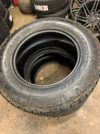 Photo Nitto tires - $400 (Lubbock)