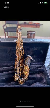 Photo WOW CANNONBALL BLACK NICKELGOLD BIG BELL STONE SERIES ALTO SAXOPHONE - $1,975 (Iraan)