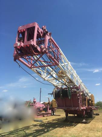Photo Water Well Drilling Rig (Odessa TX)