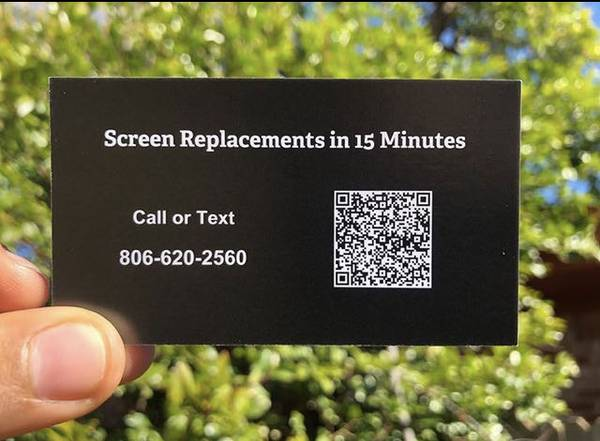 Photo iPhone Screen Replacements - $55
