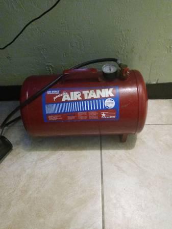 Photo worksAir portable air tank - $50 (Lubbock)