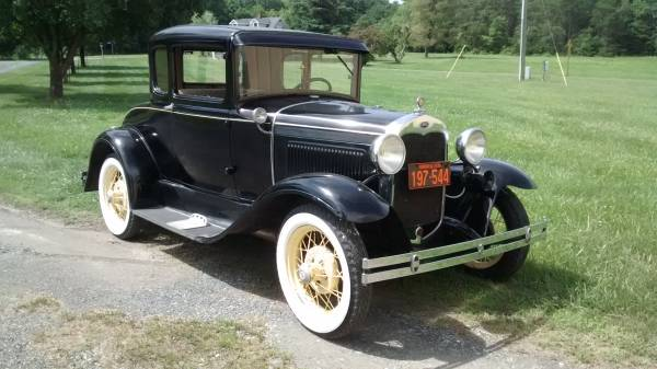 Photo 1930 Ford Model A Coupe - $14,000 (Lynchburg)