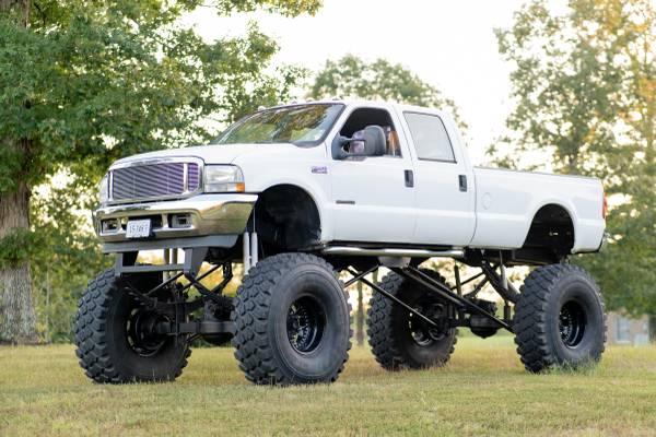 Photo 2002 Ford - F550 - Super Duty, Lifted, Street Legal, Powerstoke 7.3 - $25,000 (Lynchburg VA)