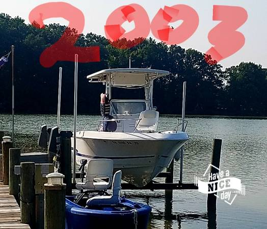 Photo 2003 proline package 20 foot center console turn key every thing work - $16,213 (Hague va)